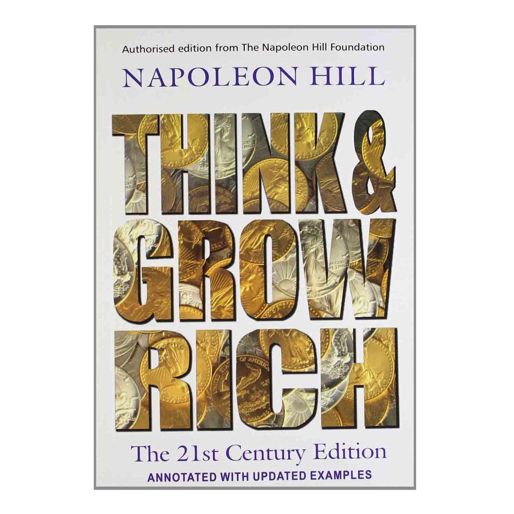 Think and Grow Rich - The 21St Century Edition (English) Paperback - 2013 - Chirukaanuka