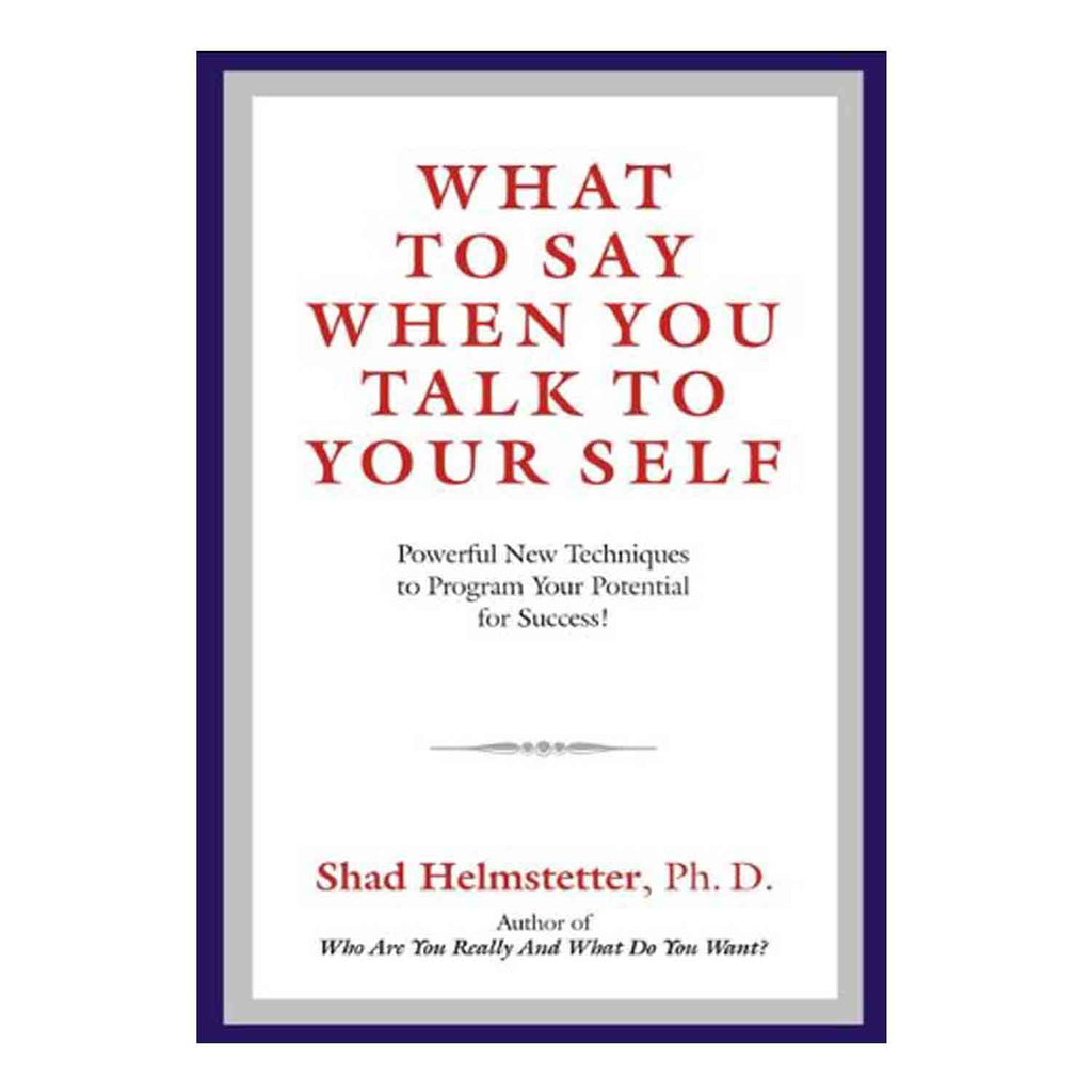 What to Say When You Talk to Yourself (English) Paperback - 2013 - Chirukaanuka