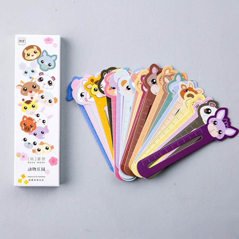 Animal Farm Scale Shape Bookmark - Chirukaanuka