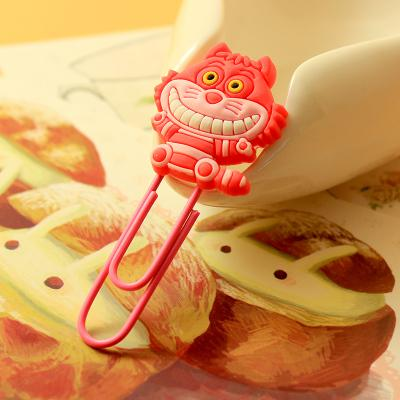 Cute Cartoon Characters Paper Clip Bookmark - Chirukaanuka