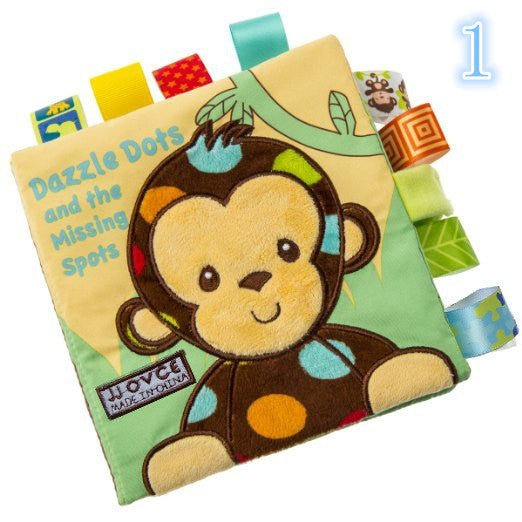 Baby early education book cloth book puzzle book three-dimensional cloth book - Chirukaanuka