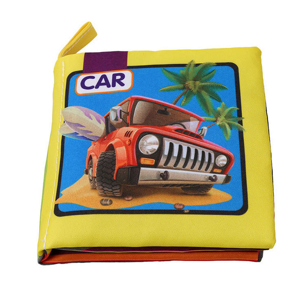 Baby Early Childhood Book Cloth Book Puzzle Tear Bad Early Learning Palm Book - Chirukaanuka