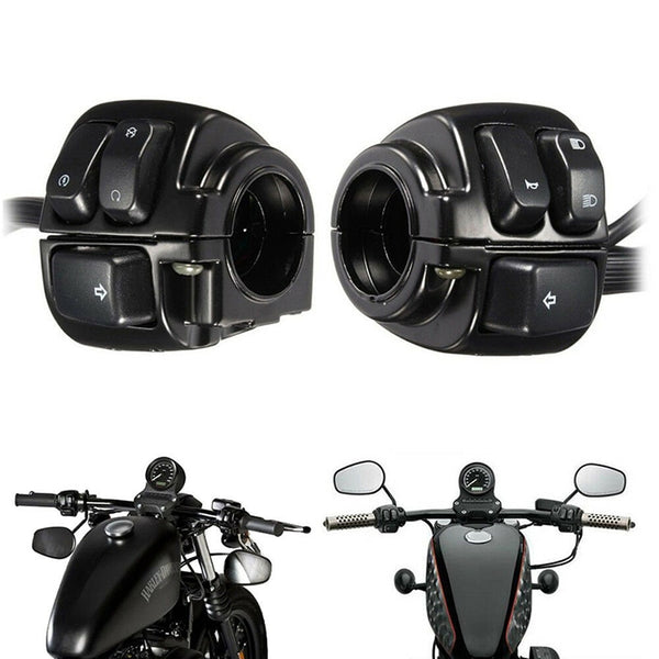 Durable Motorcycle Handlebar Turn Signal Control Switch For Harley XL883 Sportster