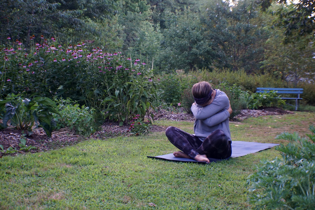 Yoga in the Garden Sept 30