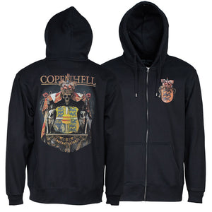 """COAT OF ARMS"" (Zip Hoodie)"
