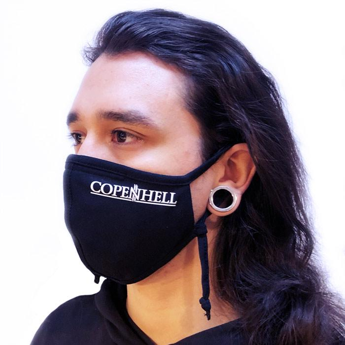 Copenhell: Face Mask – COPENHELL logo