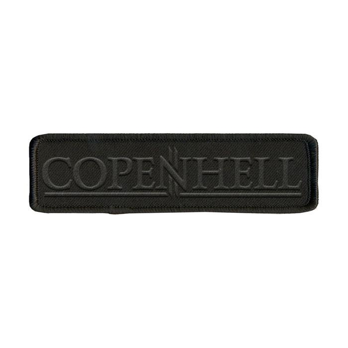 Copenhell: Logo patch black on black
