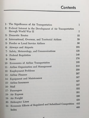 AIR TRANSPORTATION MANAGEMENT : Its Practices and Policies