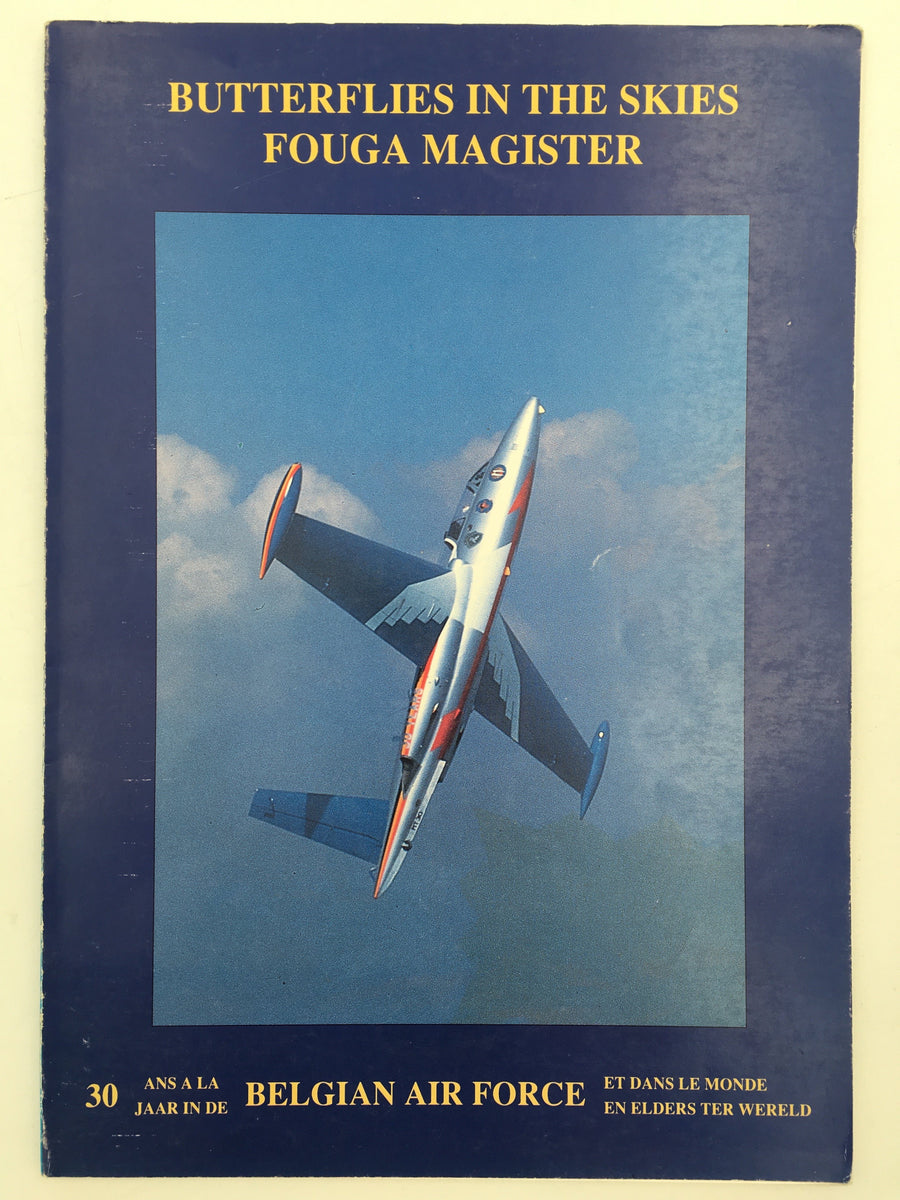 BUTTERFLIES IN THE SKIES FOUGA MAGISTER