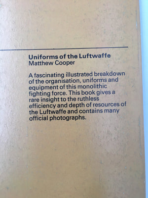 Uniforms of the Luftwaffe, 1939 - 1945
