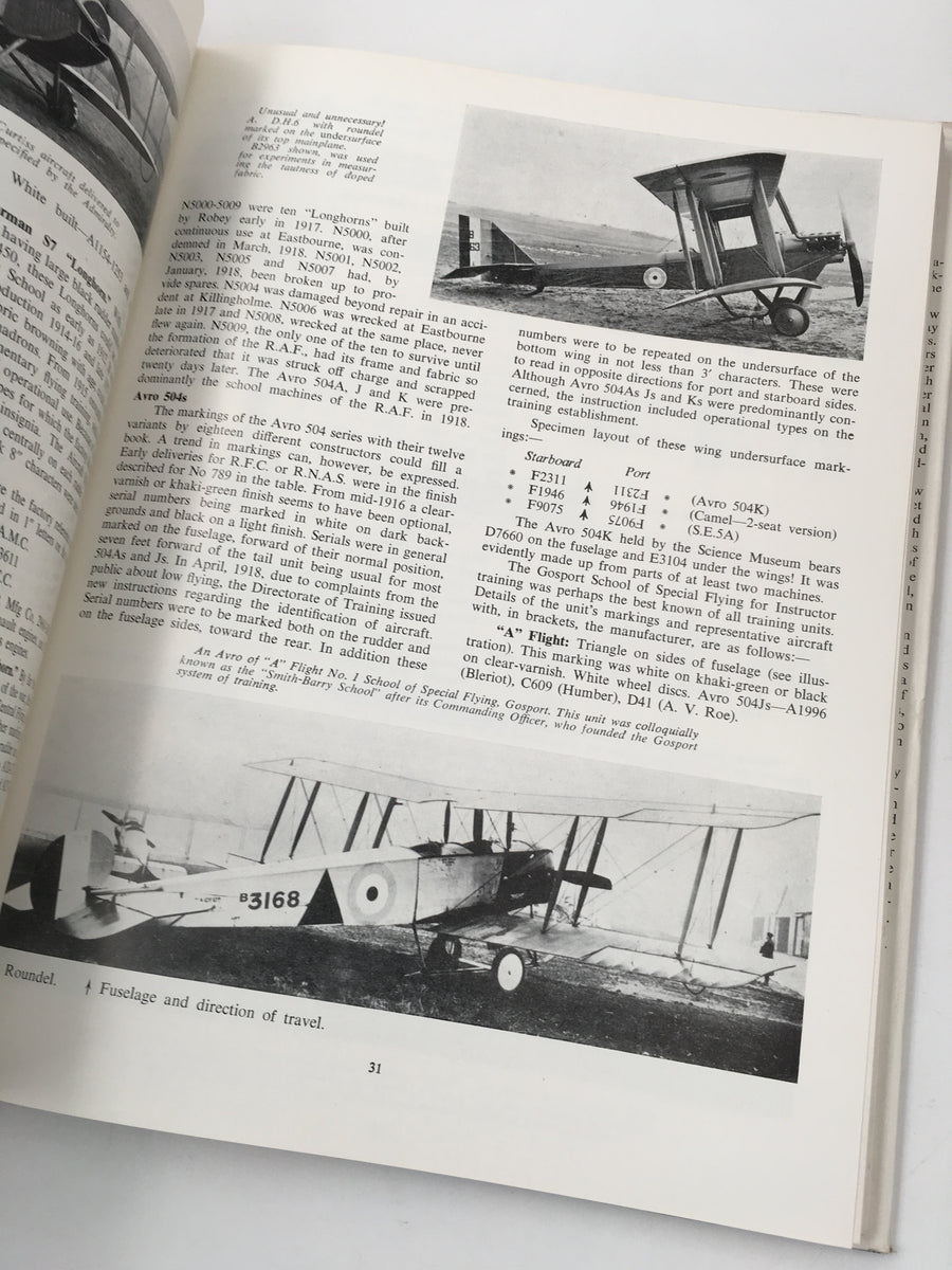 AIRCRAFT CAMOUFLAGE AND MARKINGS 1907-1954