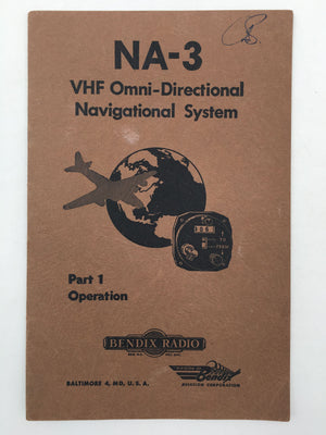 NA-3 VHF Omni-Directional Navigational System Part 1 Operation