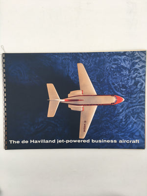 The de Havilland jet - powered business aircraft