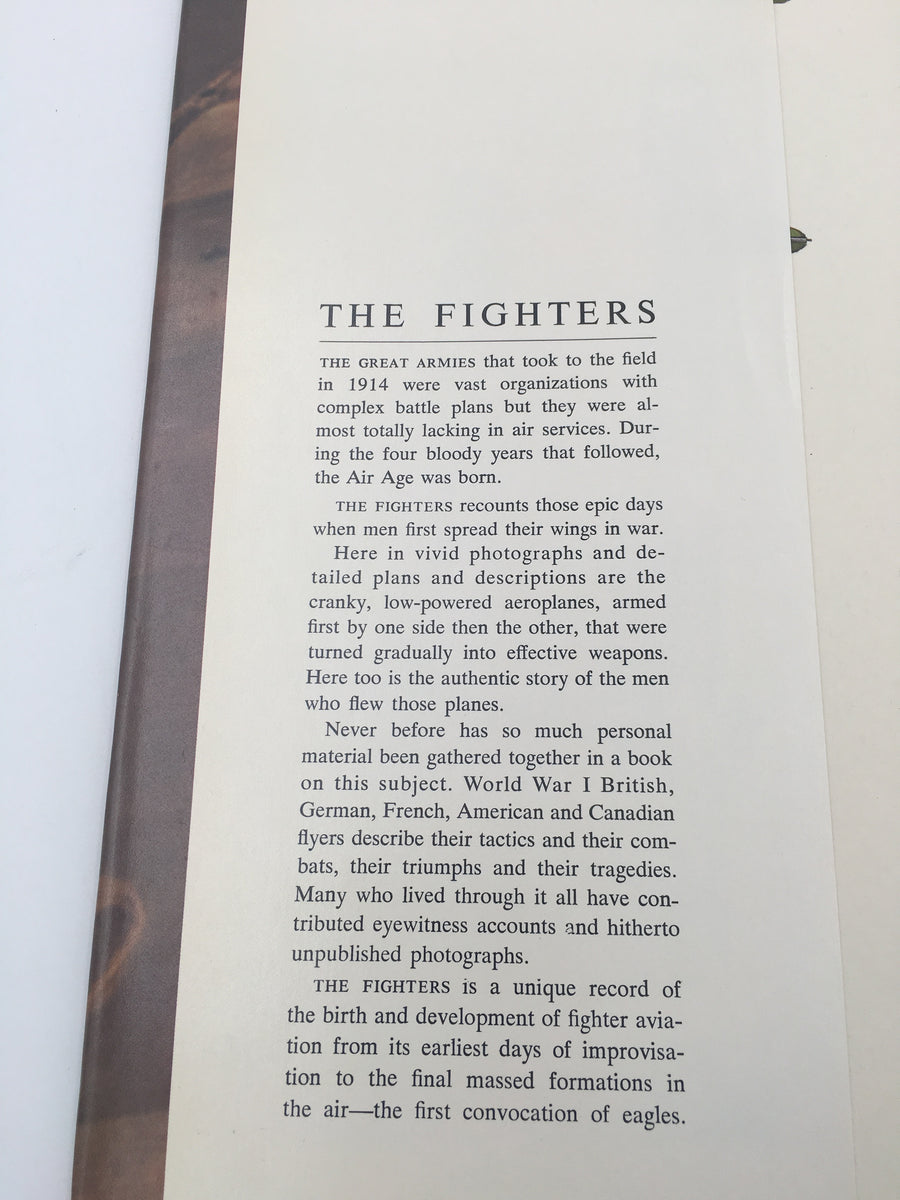 THE FIGHTERS : THE MEN AND THE MACHINES OF THE FIRST AIR WAR