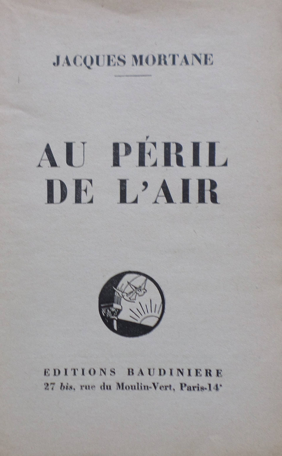 AU PÉRIL DE L'AIR