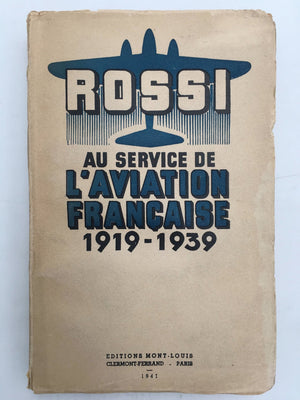 AU SERVICE DE L'AVIATION FRANÇAISE 1919-1939