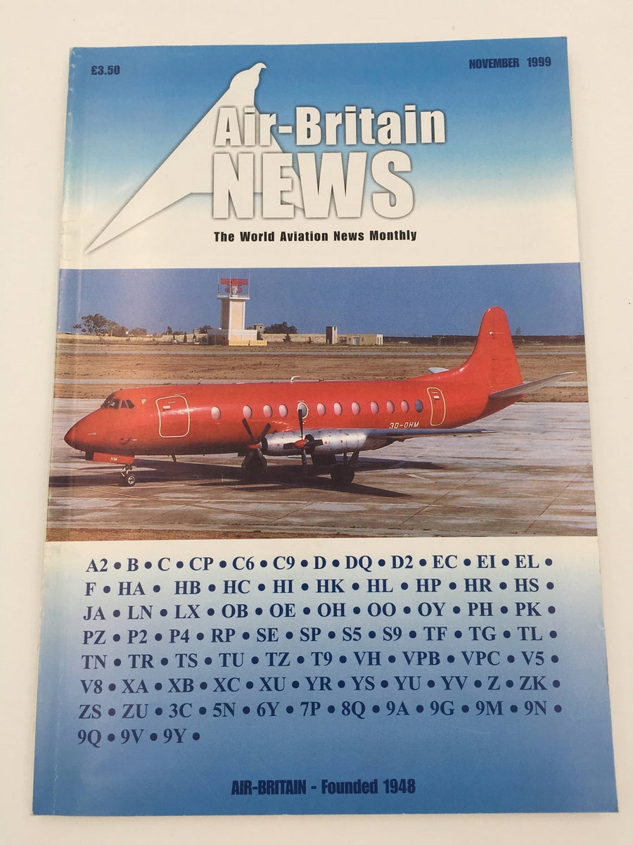 Air-Britain NEWS The World Aviation News Monthly