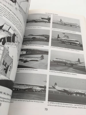 HISTORY OF CAMBRIAN AIRWAYS the Welsh airline from 1935-1976