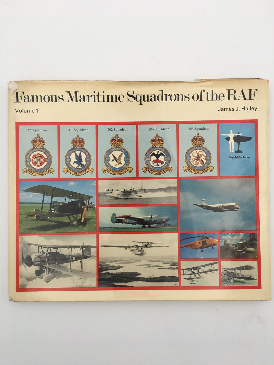 Famous Maritime Squadrons of the R.A.F., Volume 1
