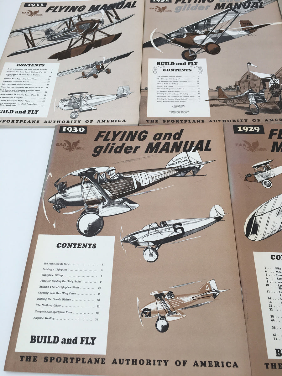 FLYING MANUAL / FLYING and glider MANUAL