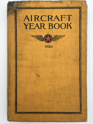 AIRCRAFT YEAR BOOK : 1920
