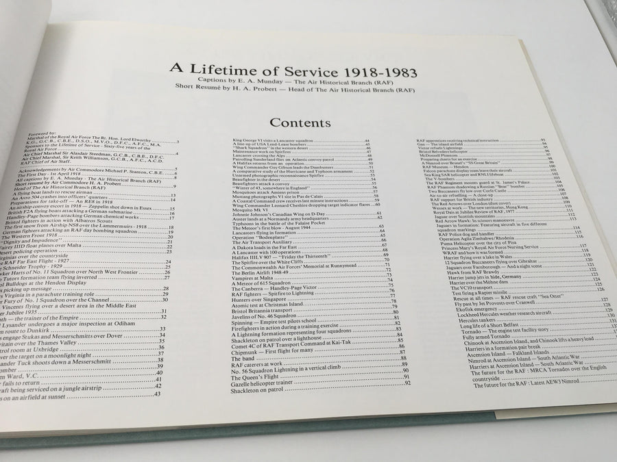 A LIFETIME OF SERVICE 1918 - 1983