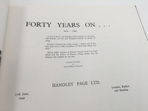 Forty years on…
