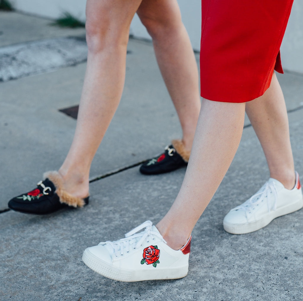 Fashion Week Isn't A Sprint, Wear Comfy Shoes.