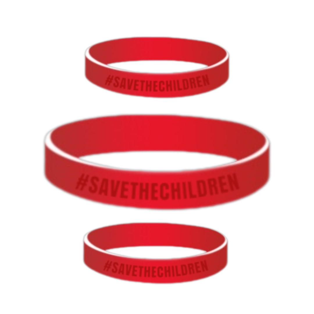 SAVE THE CHILDREN WRISTBAND