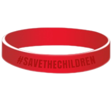Open image in slideshow, SAVE THE CHILDREN WRISTBAND