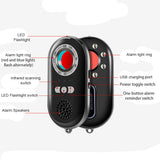 Topvico Camera Finder Vibration Alarm Mini Travel Shock Sensor Anti - Spy Detector Wireless Camera Lens Hidden Devices K98