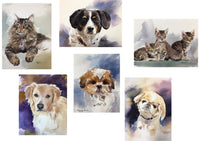 Pet Portraits and fine art by artist John Clancy