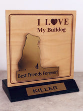Load image into Gallery viewer, Bulldog Desktop Trophy