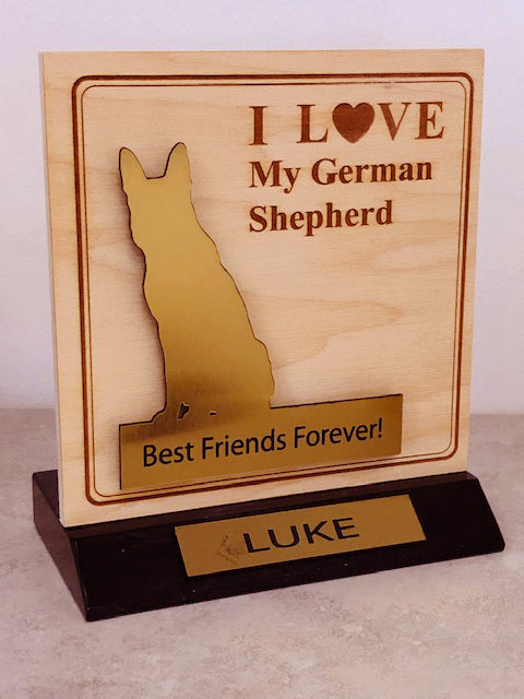 Shepherd Desktop Trophy