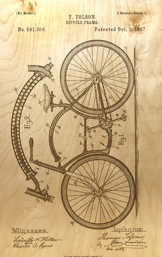 Bicycle Frame 1897
