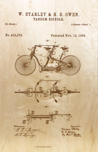 The Tandem Bicycle