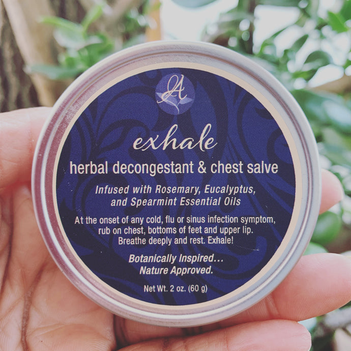 Exhale — Herbal Decongestant and Chest Salve