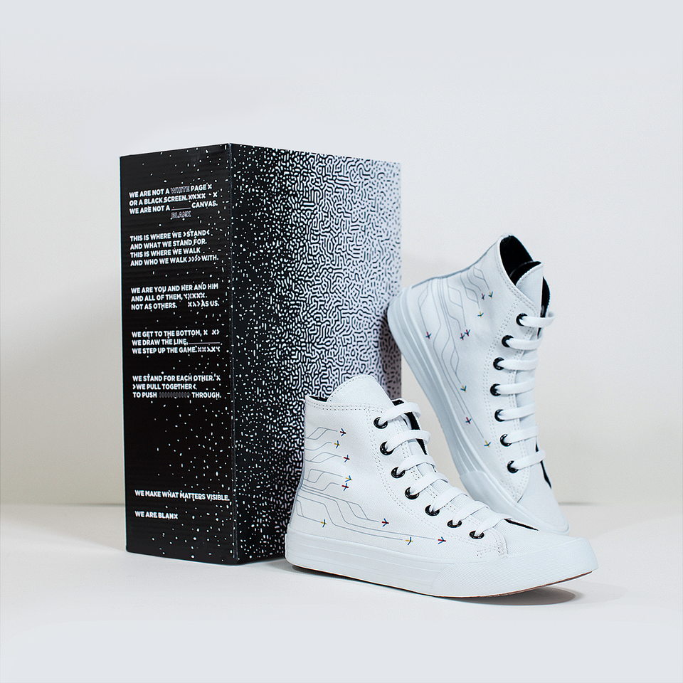 Lorbus Caracas White High-Top | XX - blanx.me