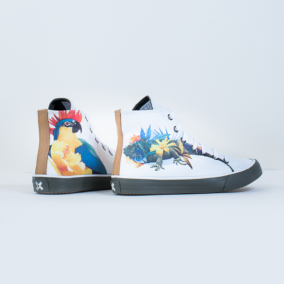 Guillermo Flores Iguana High-Top | XX - blanx.me