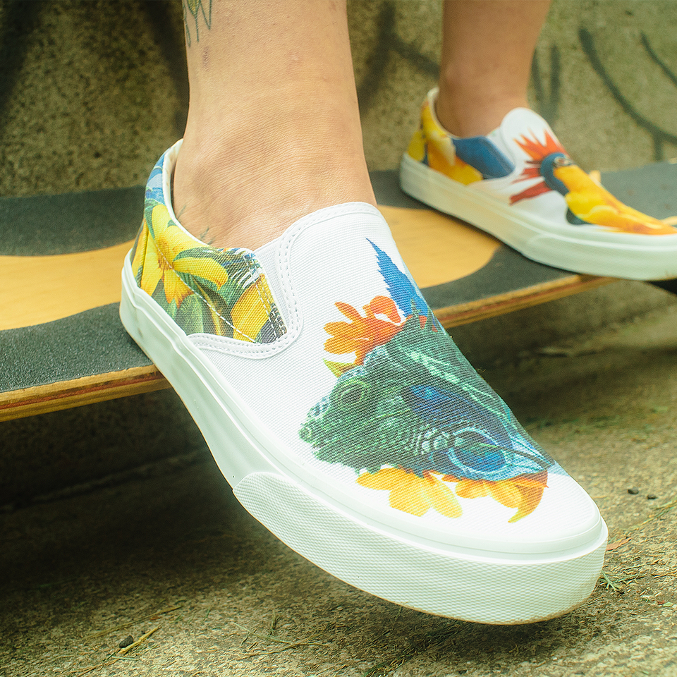 Guillermo Flores | Iguana | Slip-On Women - blanx.me