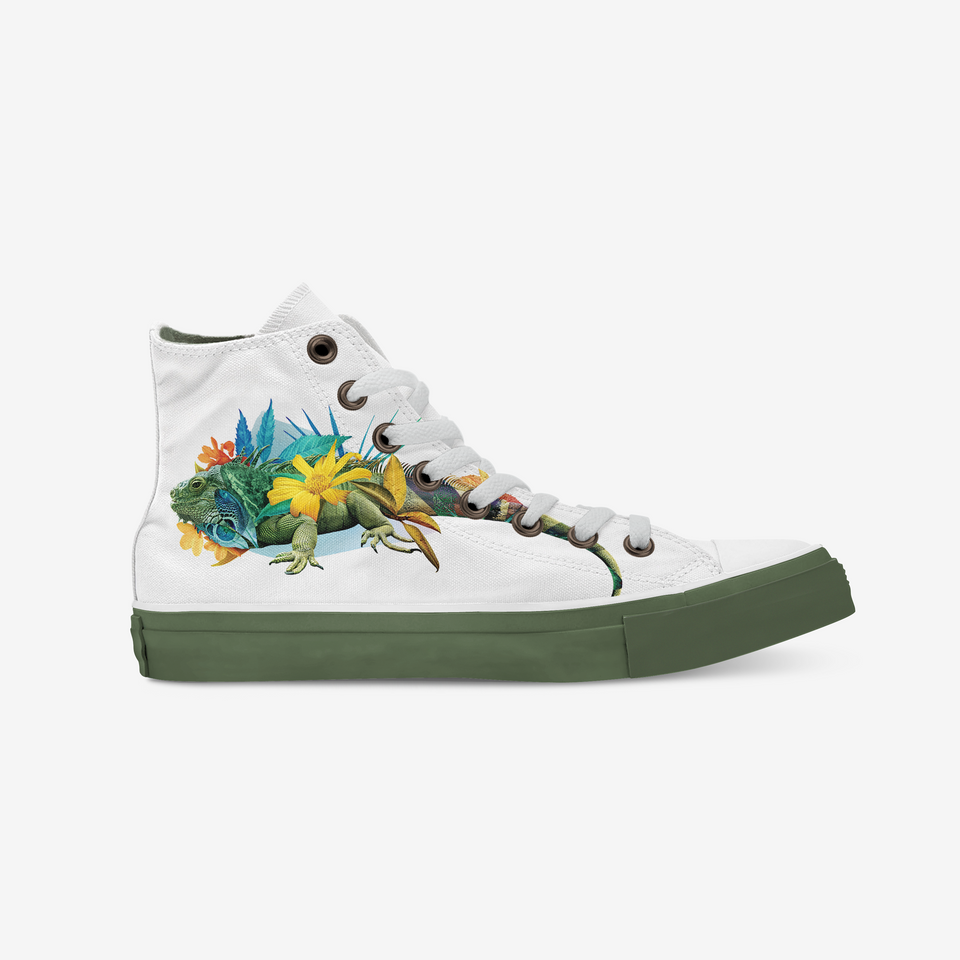 Guillermo Flores Iguana High-Top | XY - blanx.me