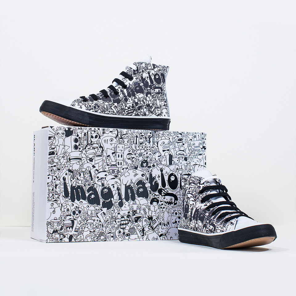 Ray Rincón Imagination High-Top | XX - blanx.me