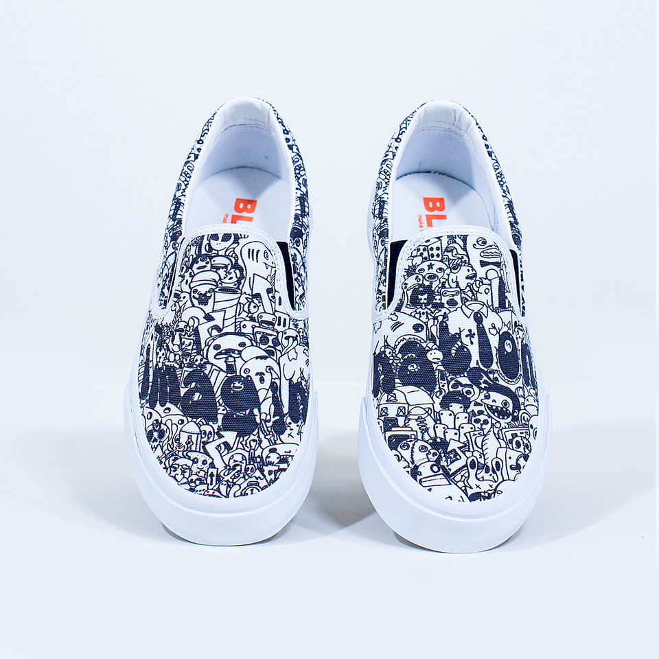 Ray Rincón | Imagination | Slip-On Women - blanx.me