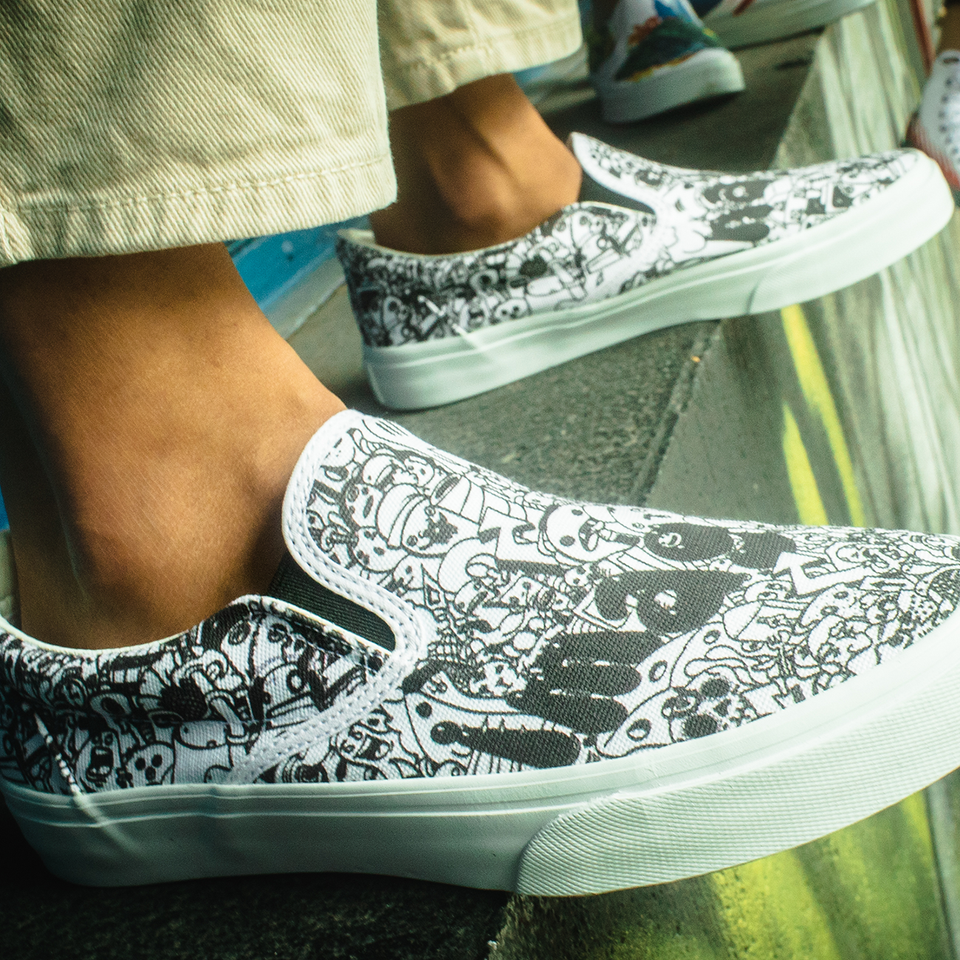 Ray Rincón | Imagination | Slip-On Men - blanx.me