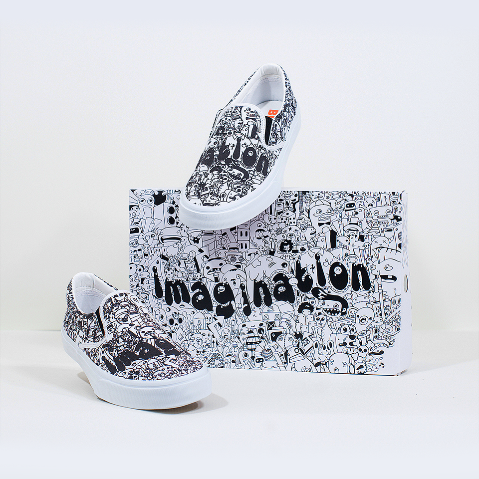 Ray Rincón Imagination Slip-On | XX - blanx.me
