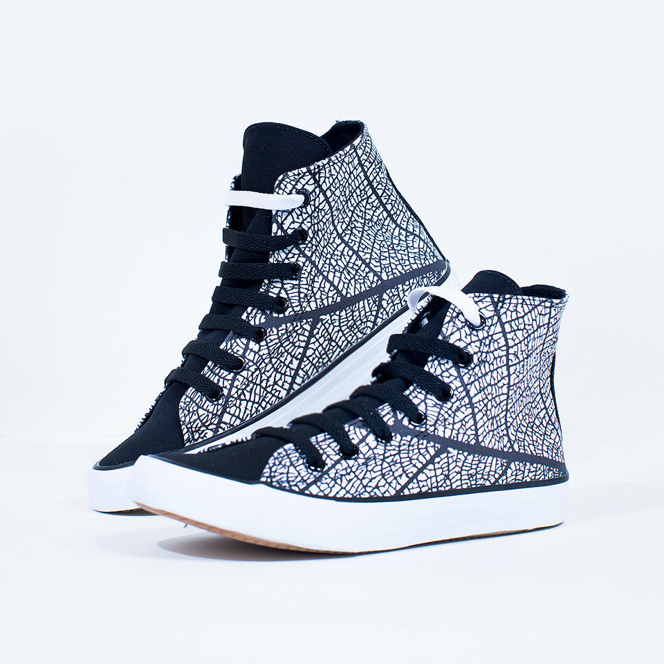 Mónica Bergna Leaf High-Top | XY - blanx.me