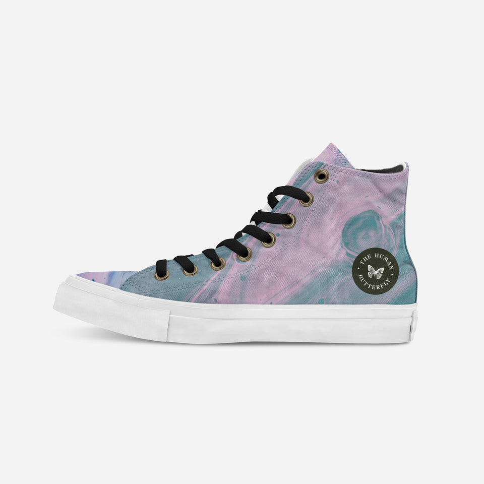 Breion Hope in Pink High-Top | XY - blanx.me