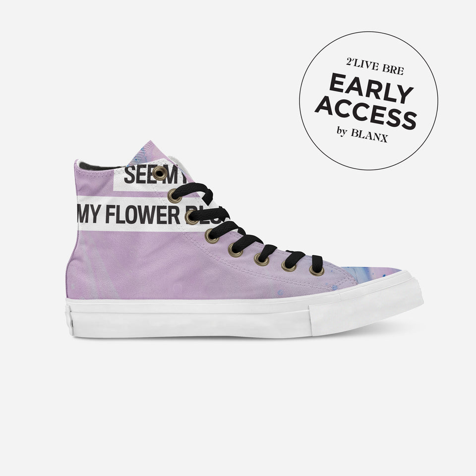 Breion Hope in Pink High-Top | XX - blanx.me