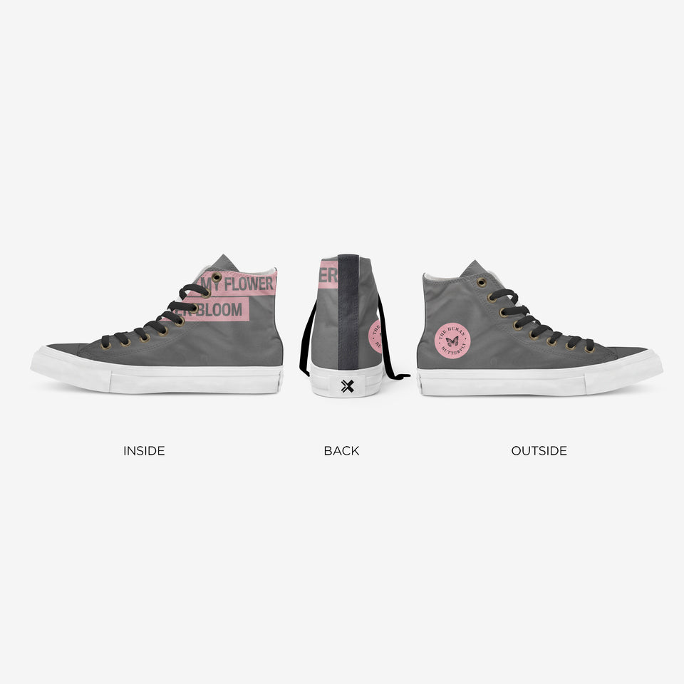 Breion Hope in Gray High-Top | XY - blanx.me