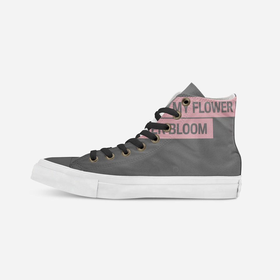 Breion Hope in Gray High-Top | XX - blanx.me